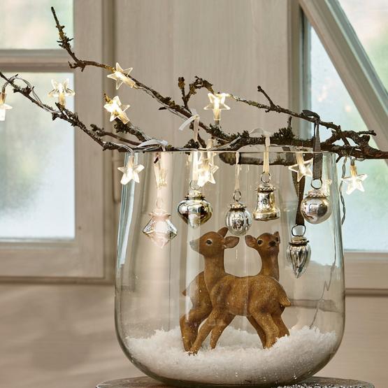 Lot de 6 décorations de Noël Levier