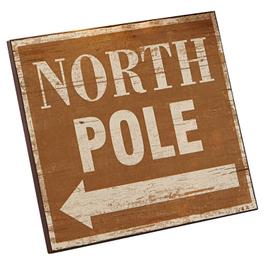 Panneau décoratif North Pole