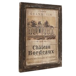 Cadre Chateau Bordeaux