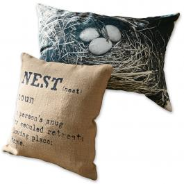 Lot de 2 coussins Nest