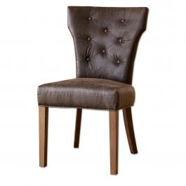 Chaise Moreno marron