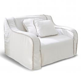 Fauteuil Perth blanc
