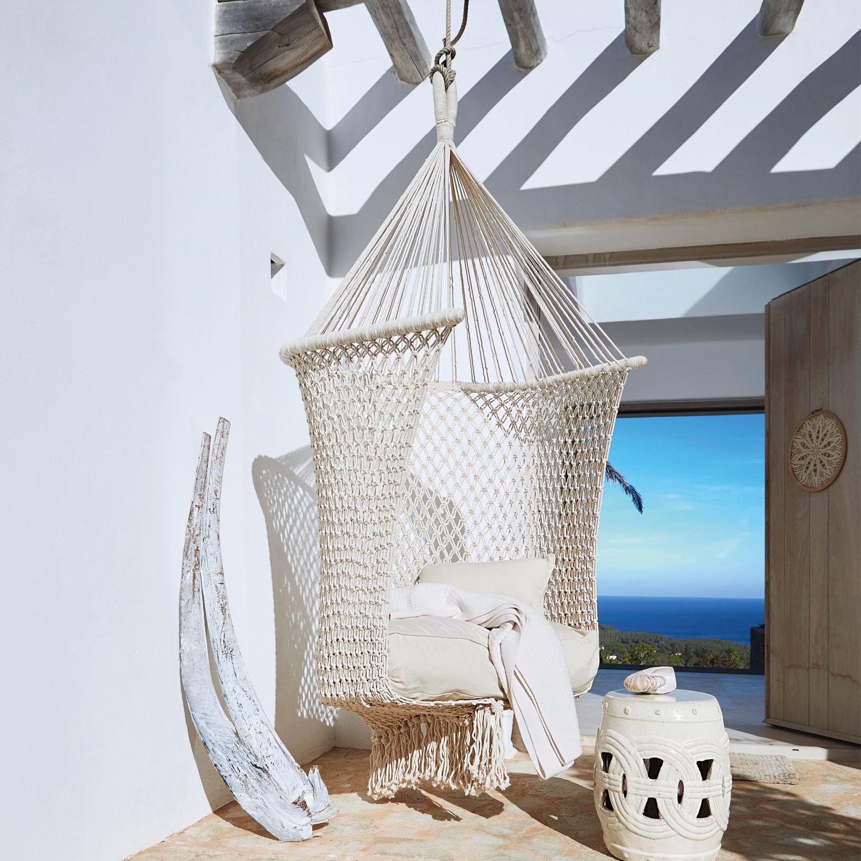 fauteuil suspendre raffaelle loberon. Black Bedroom Furniture Sets. Home Design Ideas