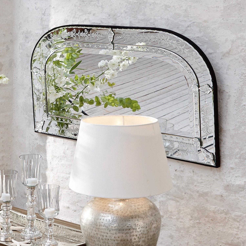 Miroir claiborne loberon - Wandlampe mediterran ...
